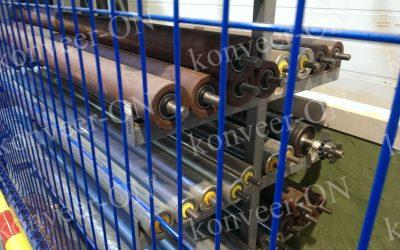 Ролики конвейерные стальные крашенные