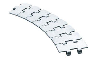 Поворотная нержавеющая пластинчатая цепь серии 881 M