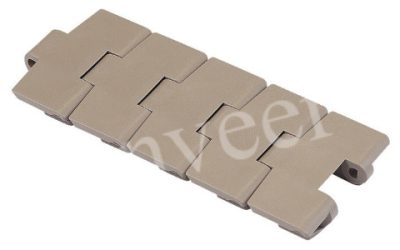 Поворотная пластиковая пластинчатая цепь серии 879 TAB