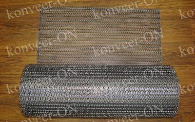 Сетка стальная конвейерная без шомполов1
