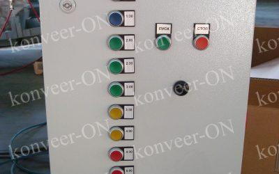 Шкаф управления системой конвейеров